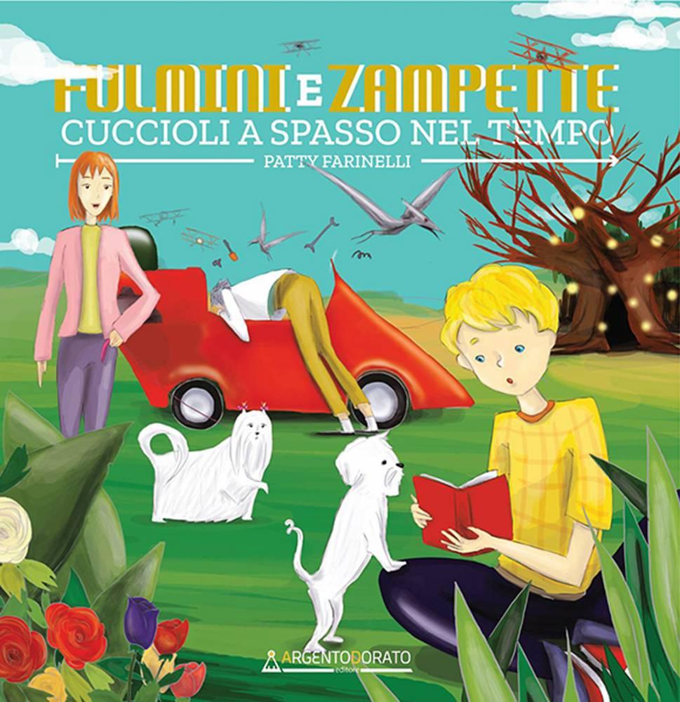 Copertina libro illustrato Fulmini e zampette di Monica Seri